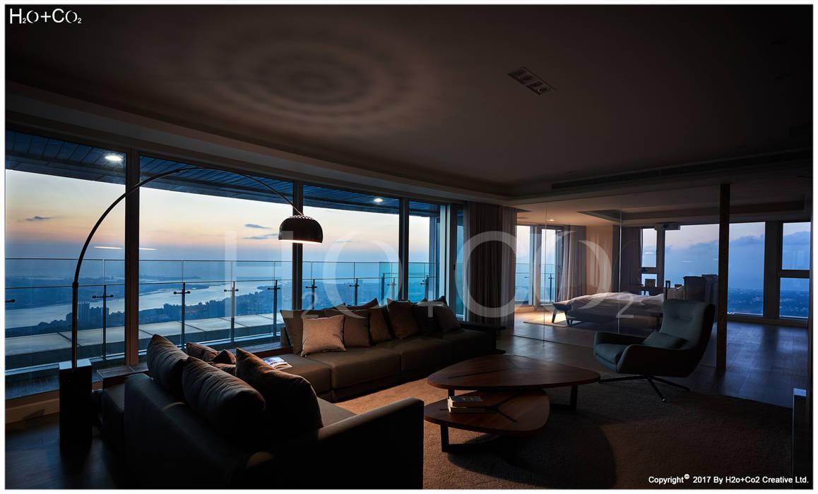 客廳 光合作用設計有限公司 现代客厅設計點子、靈感 & 圖片