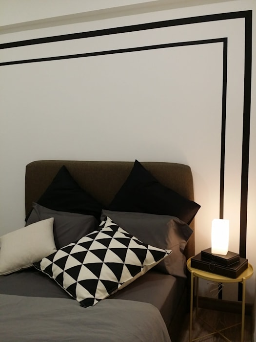 Property Styling for Investor Scandinavian style bedroom by YL Modernize Home Enterprise Scandinavian