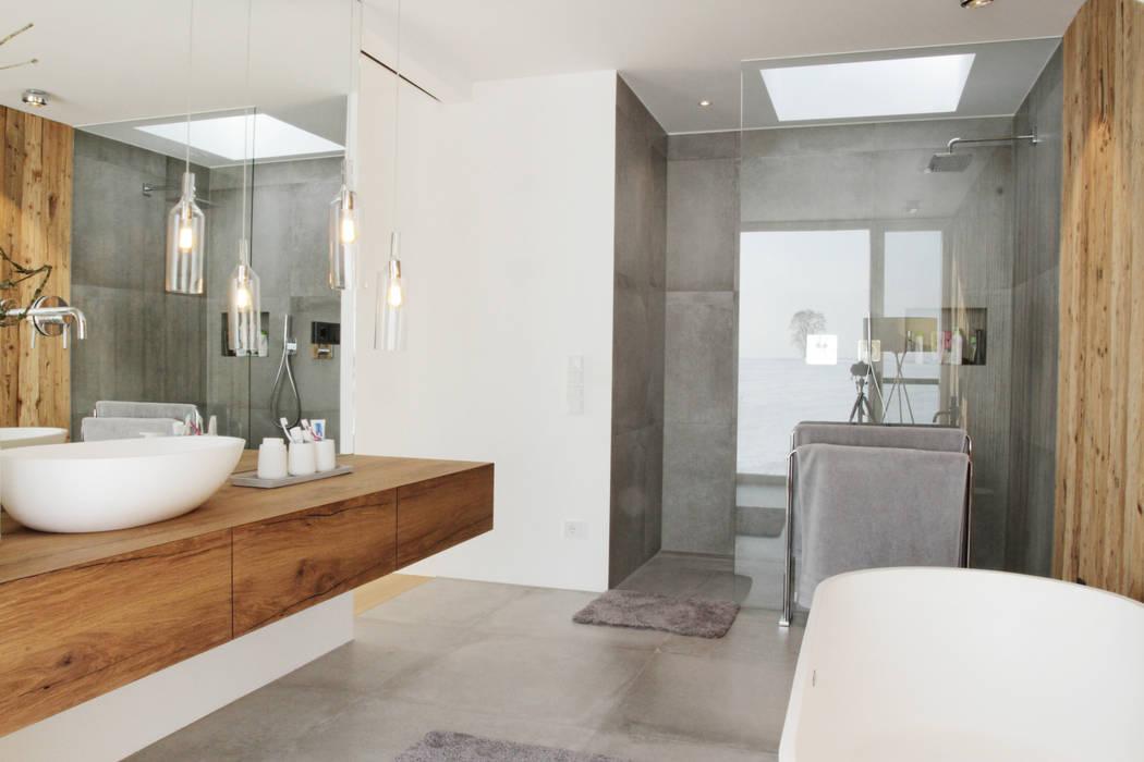 Wellness-Bad Minimalistische Badezimmer von PURE Gruppe Architektengesellschaft mbH Minimalistisch