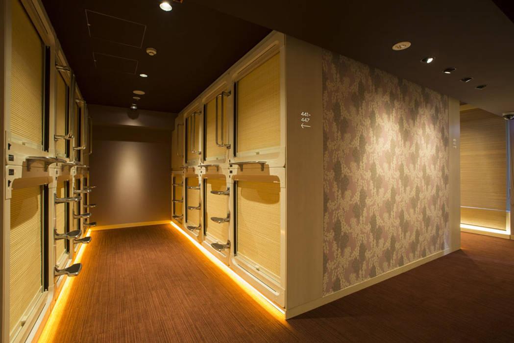 宿泊ルーム: 東京デザインパーティー|照明デザイン 特注照明器具が手掛けたホテルです。,