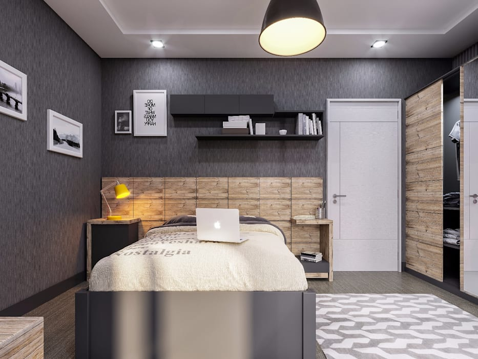 Modern Bedroom by ANTE MİMARLIK Modern