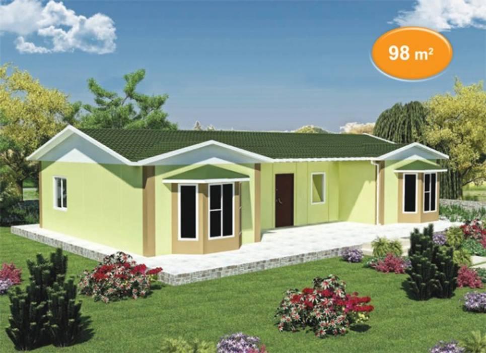 98 m2 Prefabrik Ev EMİN PREFABRİK DOĞU Klasik