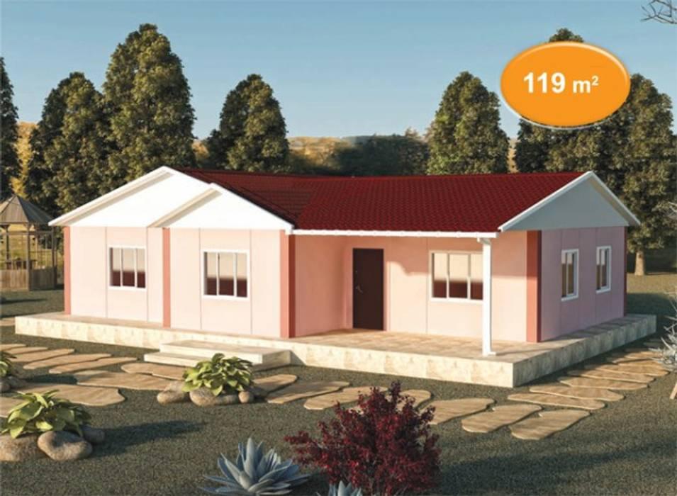 Prefabricated home by EMİN PREFABRİK DOĞU