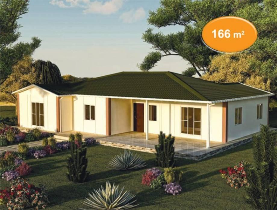Prefabricated home by EMİN PREFABRİK DOĞU, Classic