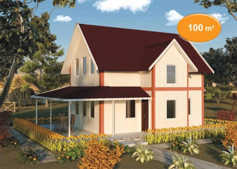 Prefabricated home by EMİN PREFABRİK DOĞU,