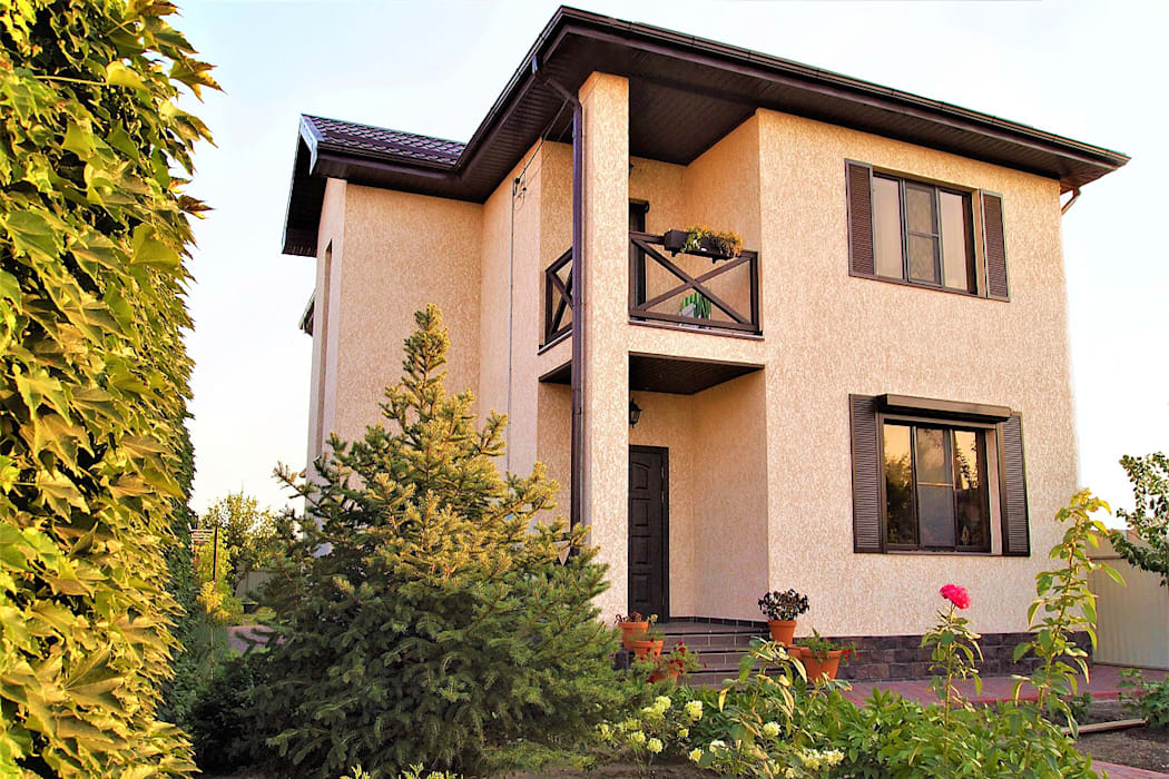 Eclectic style houses by студия Александра Пономарева Eclectic