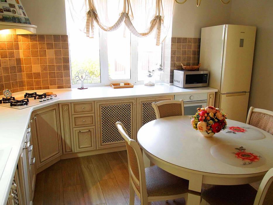 Kitchen by студия  Александра Пономарева, Eclectic