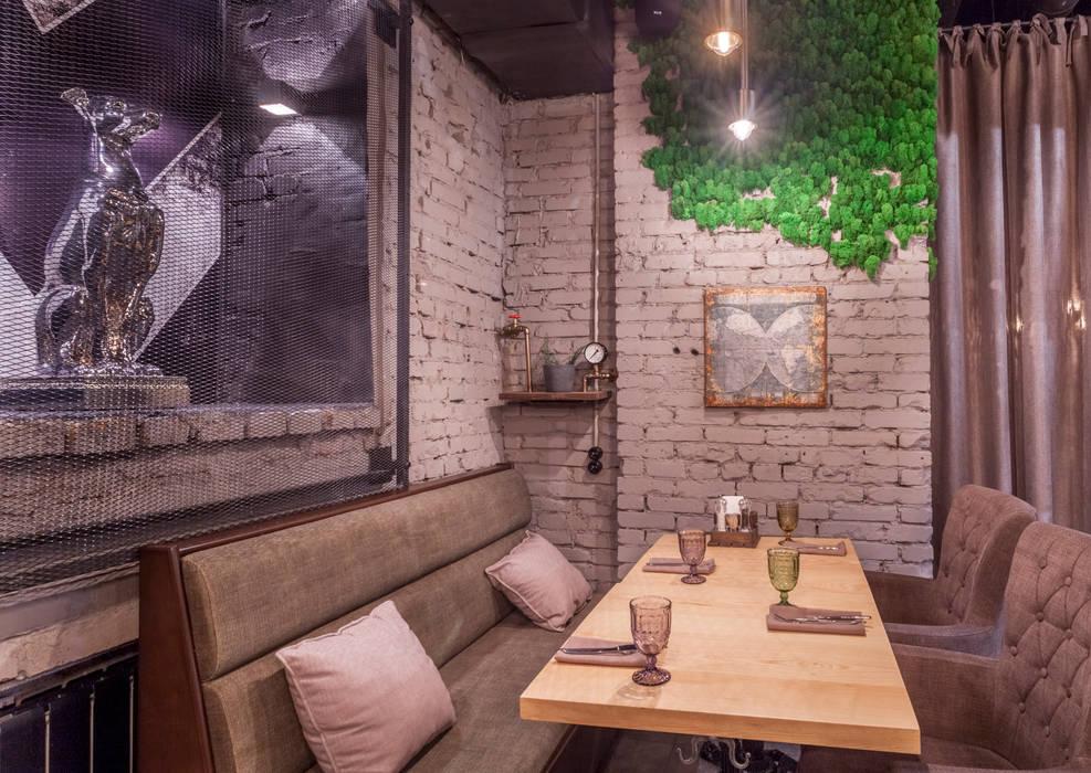 Ресторан LOFT17: Ресторации в . Автор – Студия интерьерного дизайна MEL, Лофт