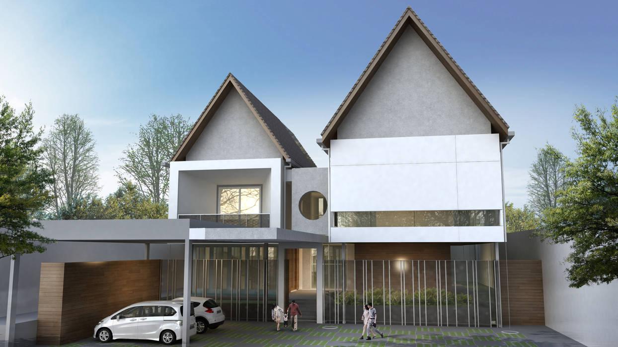 Mr.A House - Jambi Oleh CV Berkat Estetika Modern Beton Bertulang