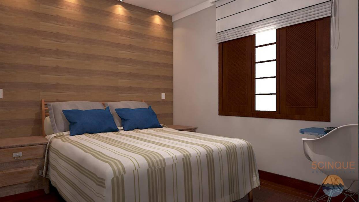Bedroom by 5CINQUE ARQUITETURA LTDA