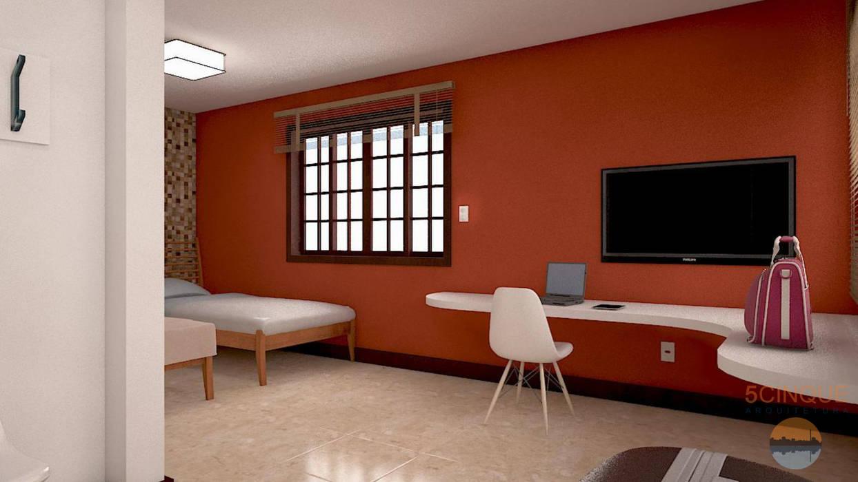 Bedroom by 5CINQUE ARQUITETURA LTDA, Country