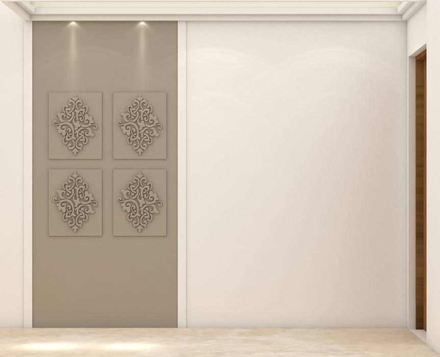 Pasillos, vestíbulos y escaleras de estilo moderno de Midas Dezign Moderno