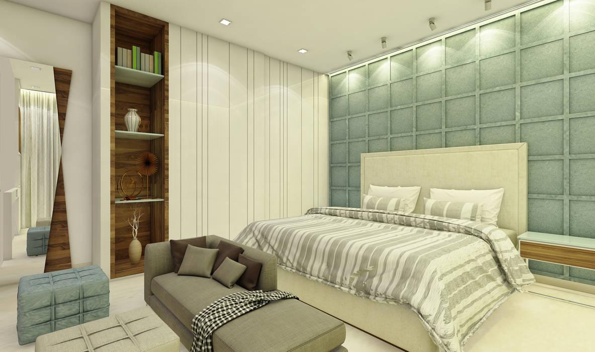 Phòng ngủ phong cách hiện đại bởi Midas Dezign Hiện đại