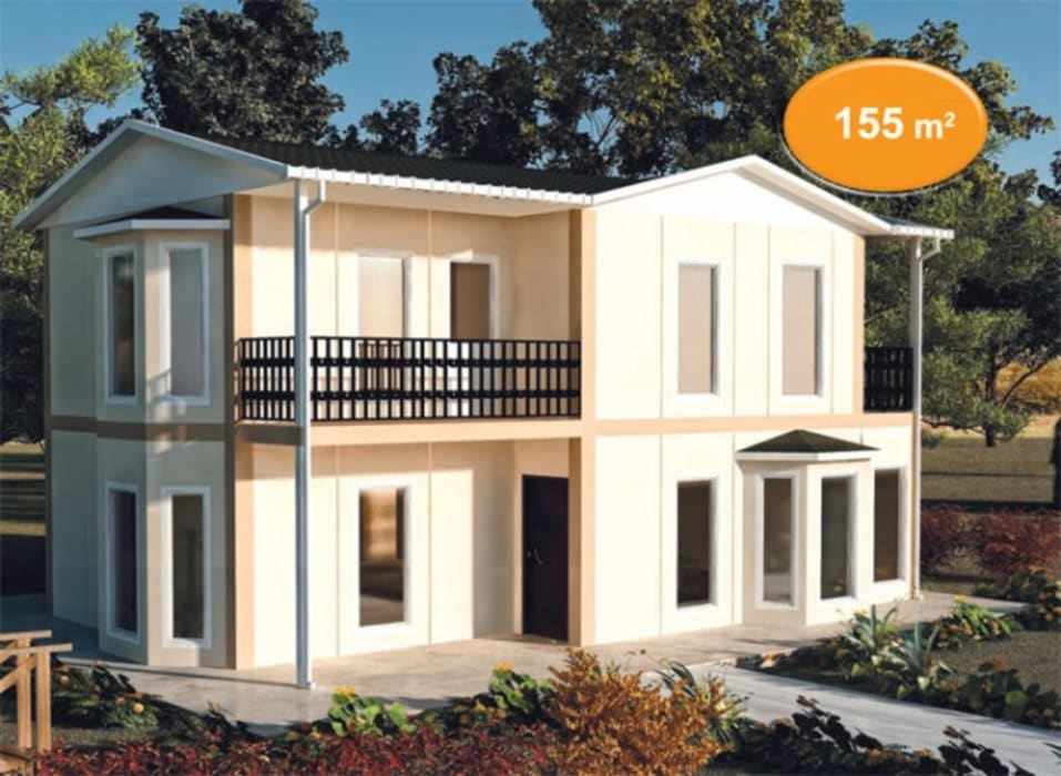 Prefabricated home by EMİN PREFABRİK DOĞU