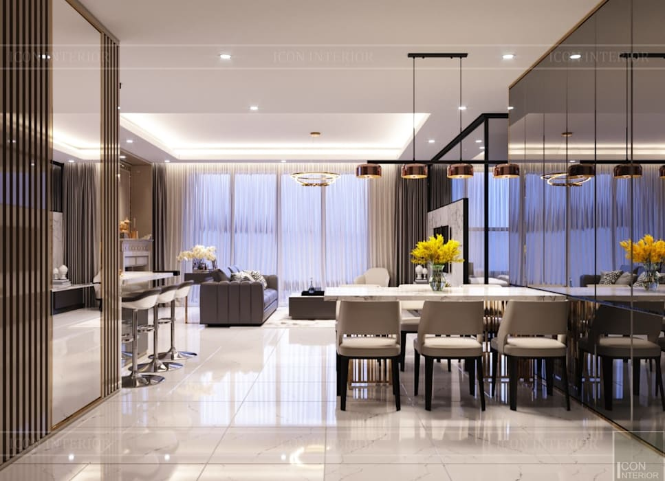 Dining room by ICON INTERIOR