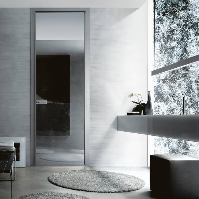 Projekty,  Drzwi szklane zaprojektowane przez Noctum