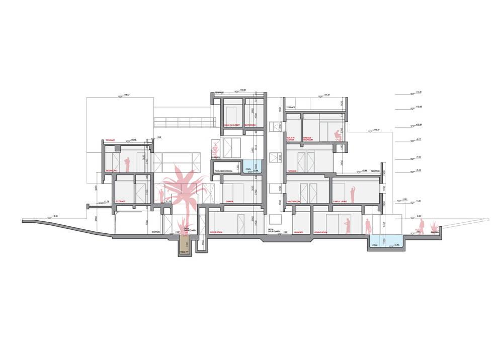 ที่เรียบง่าย  โดย AGi architects arquitectos y diseñadores en Madrid, มินิมัล