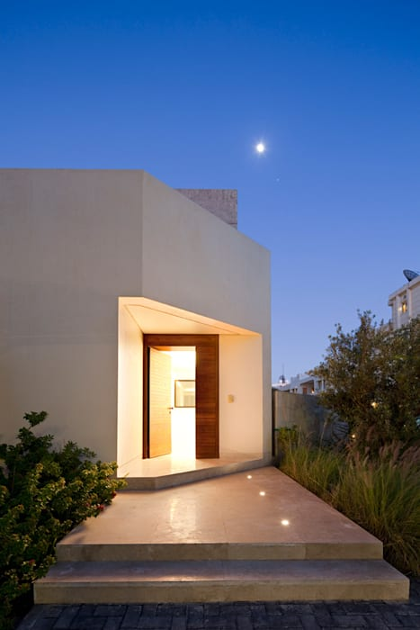Casas unifamiliares de estilo  por AGi architects arquitectos y diseñadores en Madrid