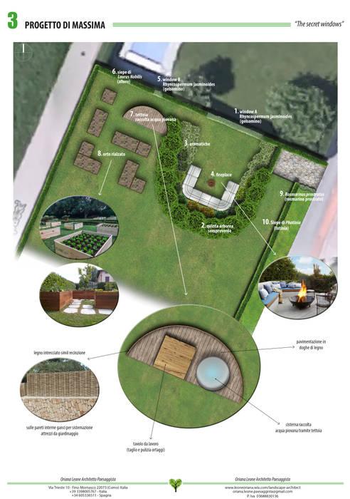 Oriana Leone Landscape Architect Taman Modern