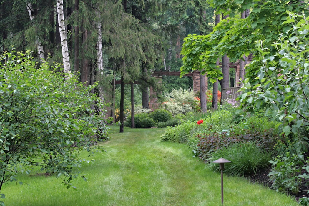 Русско-Английский сад ООО GeoGraffiti Сад в классическом стиле