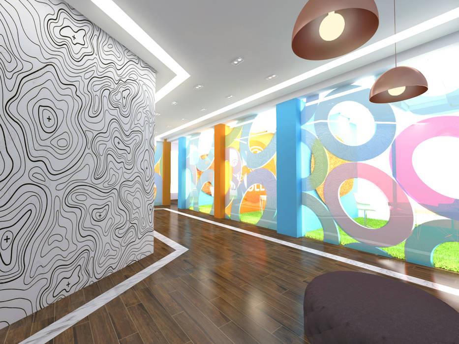 """Oficinas """"Cuéntame tu Rollo"""": Edificios de oficinas de estilo  por Cares Studio"""