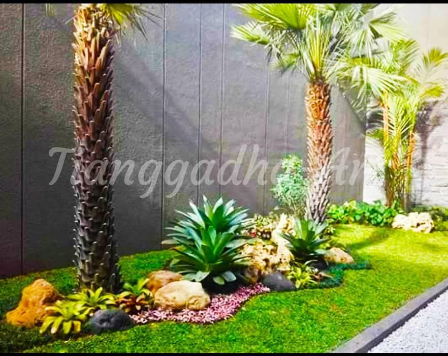 Kontraktor Taman Surabaya Kota Oleh Tukang Taman Surabaya - Tianggadha-art Mediteran Batu