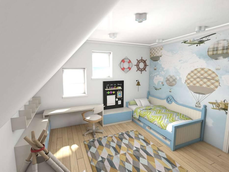 Teen bedroom by студия дизайна Ольги ковалевой