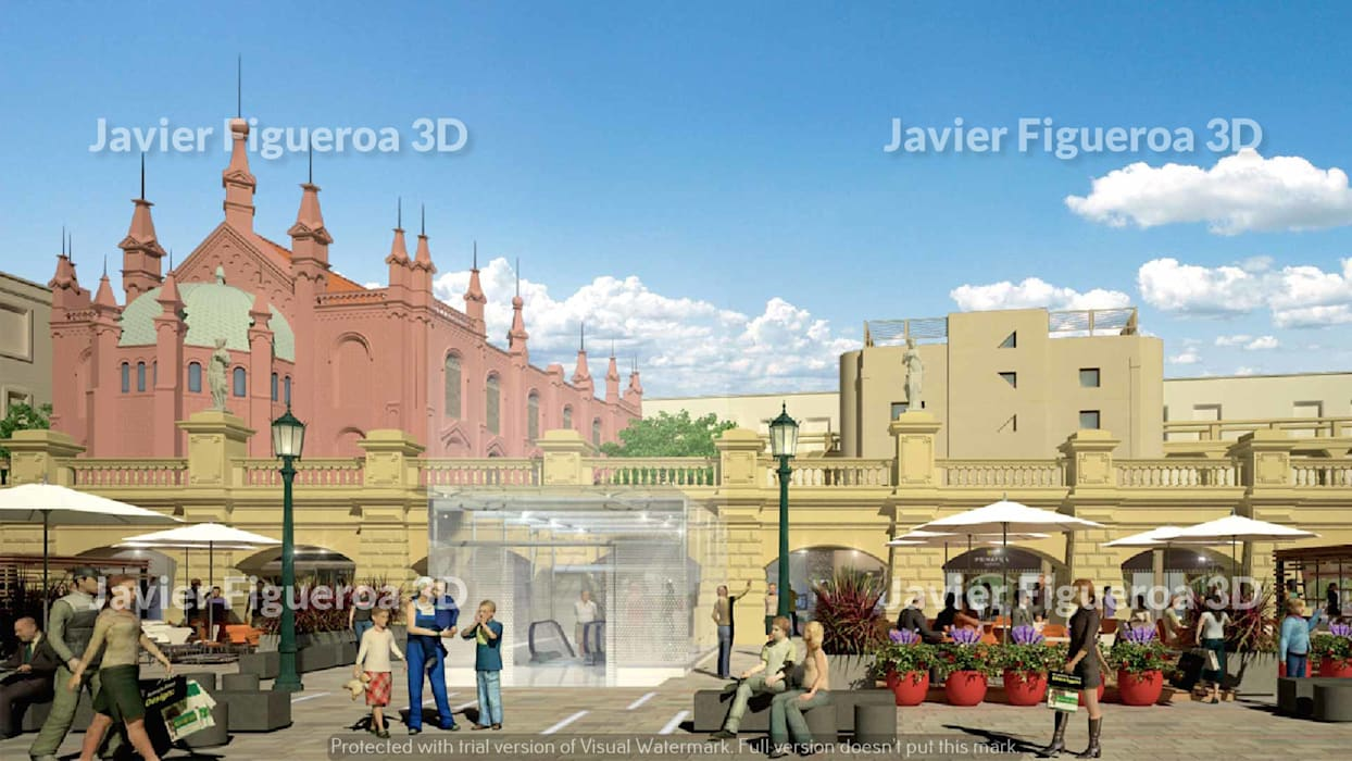 Shopping Centres by Javier Figueroa 3D, Classic