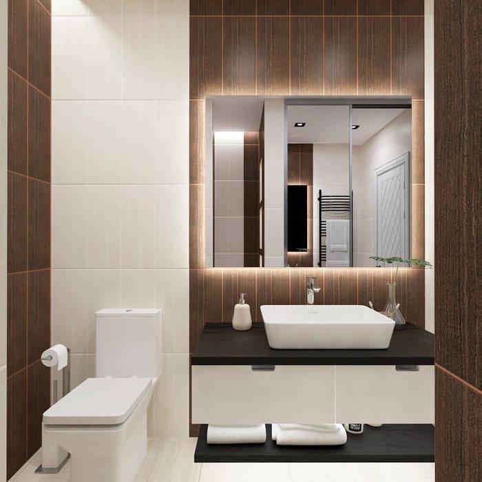 Совмещение классики и современности: Ванные комнаты в . Автор – #martynovadesign,