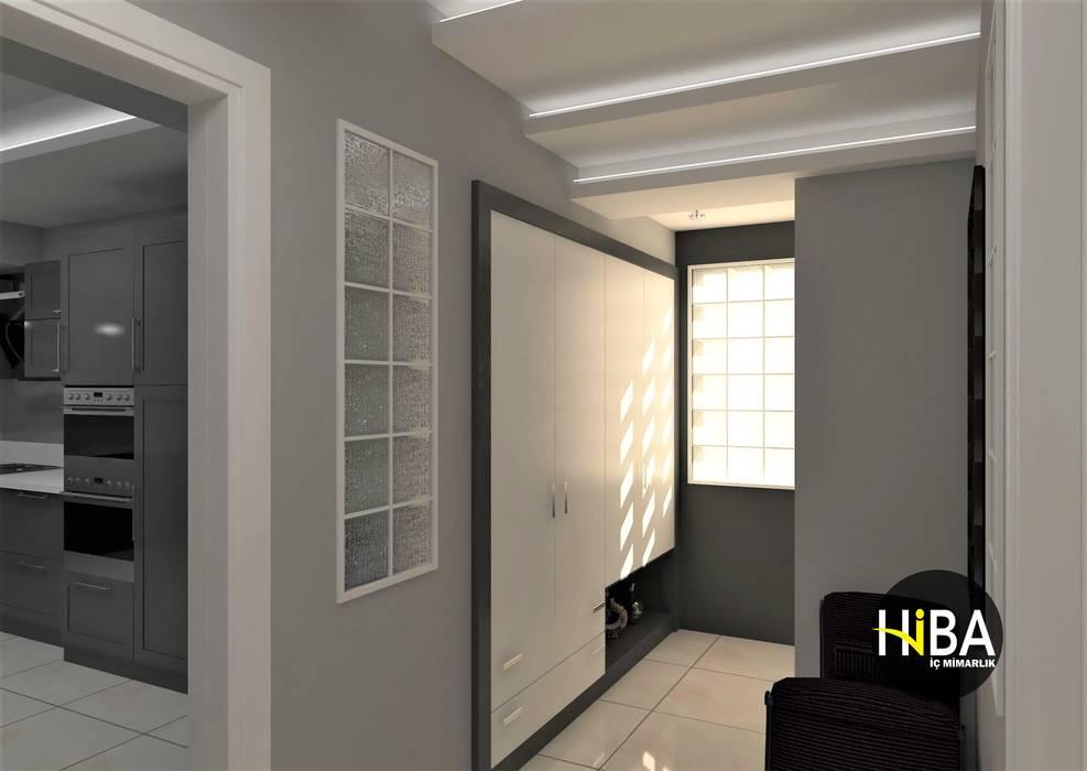 الممر الحديث، المدخل و الدرج من Hiba iç mimarik حداثي