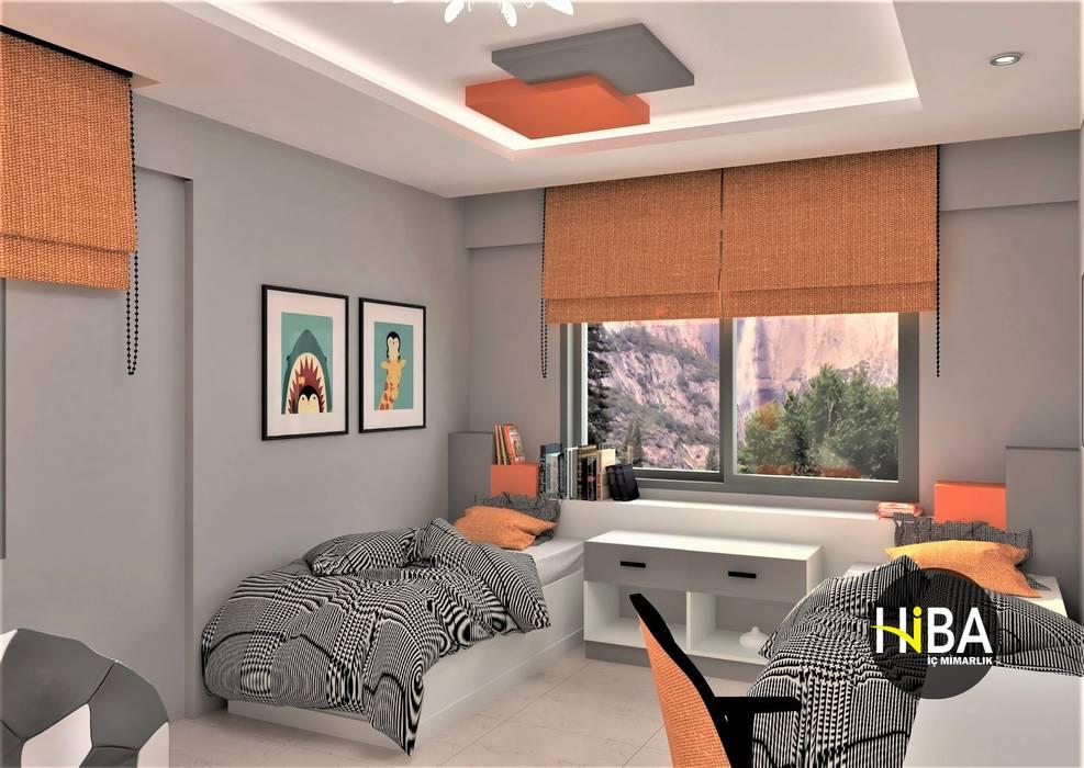Günay Ağca Villası Modern Çocuk Odası Hiba iç mimarik Modern
