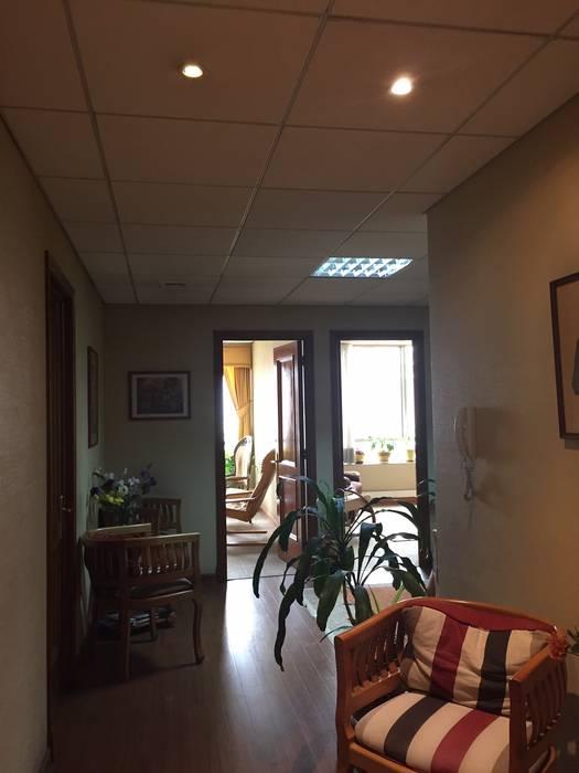 ANTES / SALA DE ESPERA Estudio Arquitectura y construccion PR/ Remodelaciones y Diseño de interiores / Santiago, Rancagua y Viña del mar Clínicas / Consultorios Médicos
