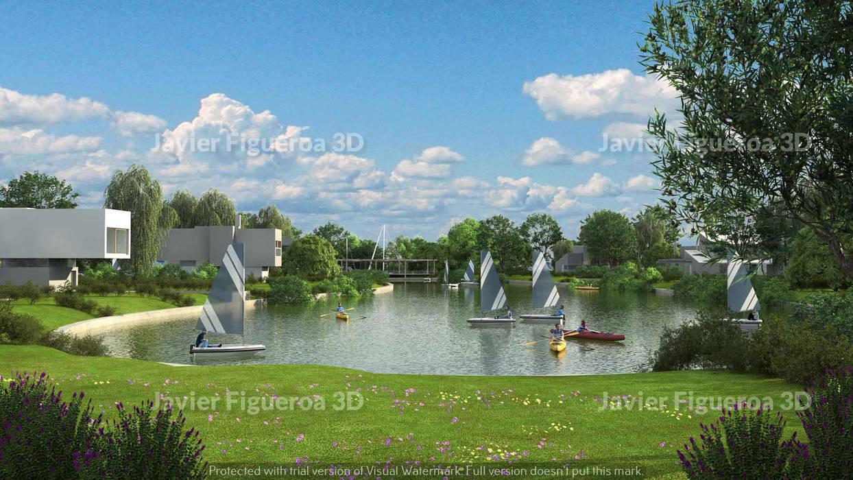 Mediterrane Häuser von Javier Figueroa 3D Mediterran