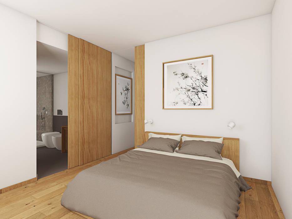 Villa q t: camera da letto in stile di alessio lo bello ...