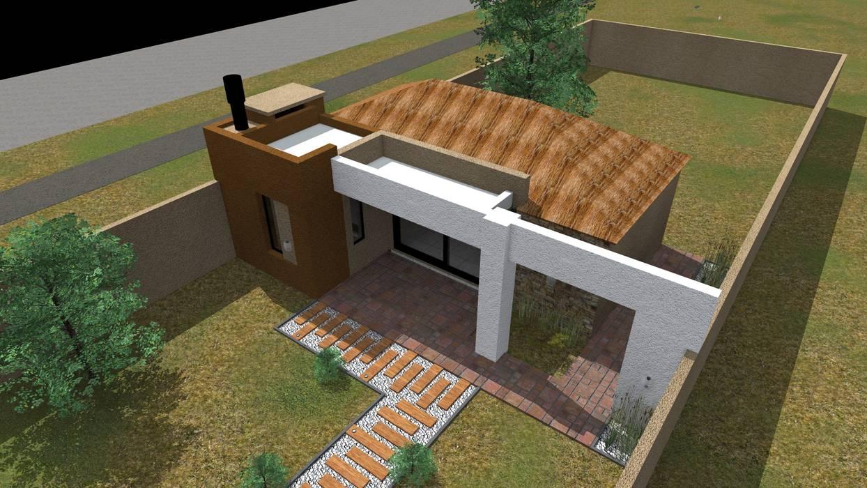 房子 by Arquitecto Emiliano Quintero, 現代風