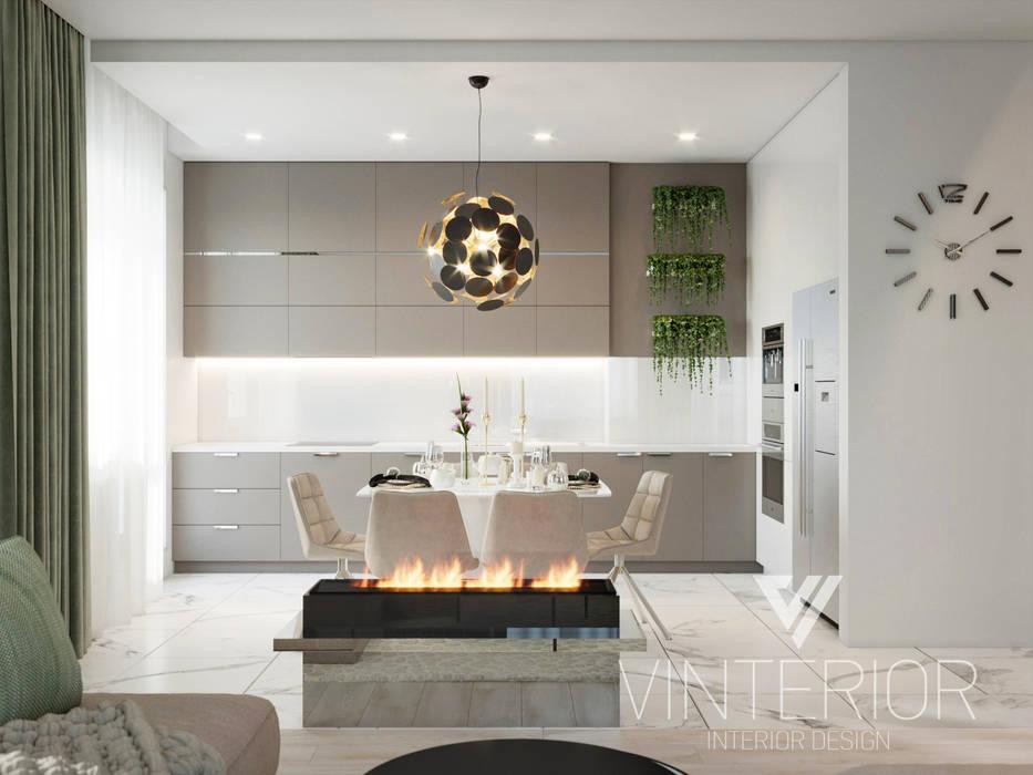 Kitchen by Vinterior - дизайн интерьера,