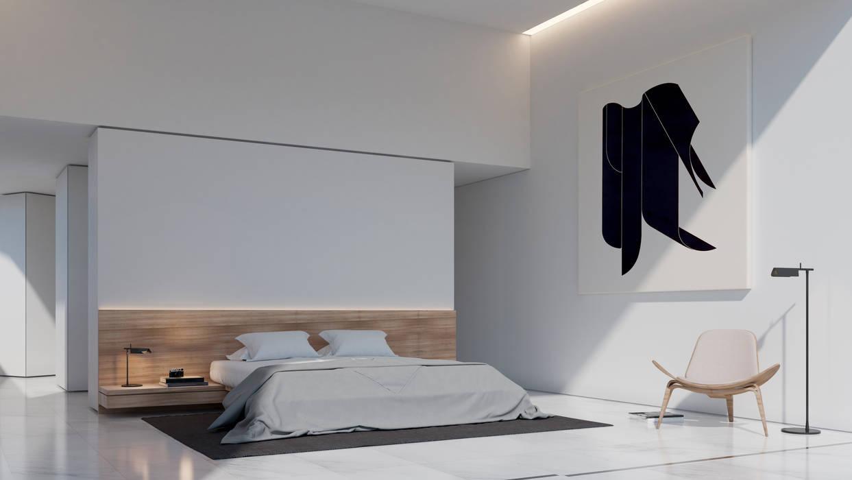 Stili Di Camere Da Letto camera da letto in stile di fran silvestre arquitectos