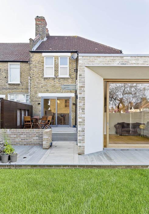 Rear Extension de Designcubed Moderno Ladrillos