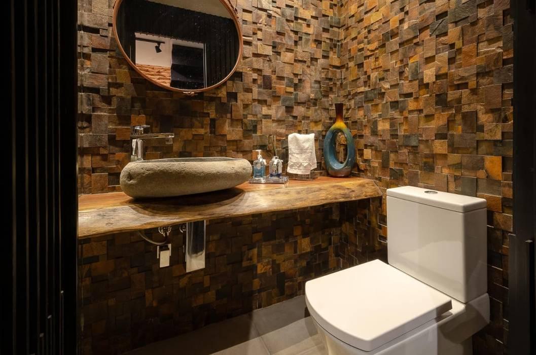 Badezimmer von Skaine Photo, Rustikal