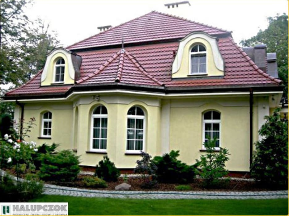 Modern windows & doors by HALUPCZOK - STOLARSTWO Modern
