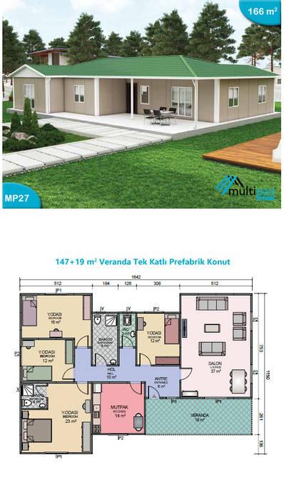 Multipan Prefabrik Endüstri Prefabricated home