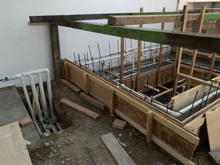 Construcción de Tina de Hidromasaje: Tinas de hidromasaje de estilo  por D&C Hogar,