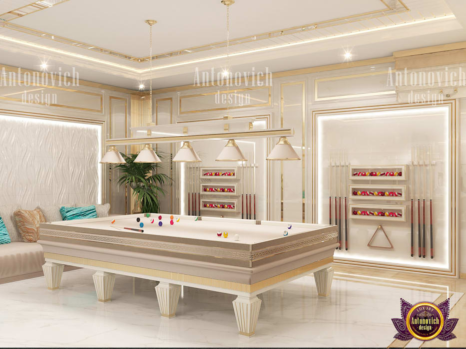 根據 Luxury Antonovich Design