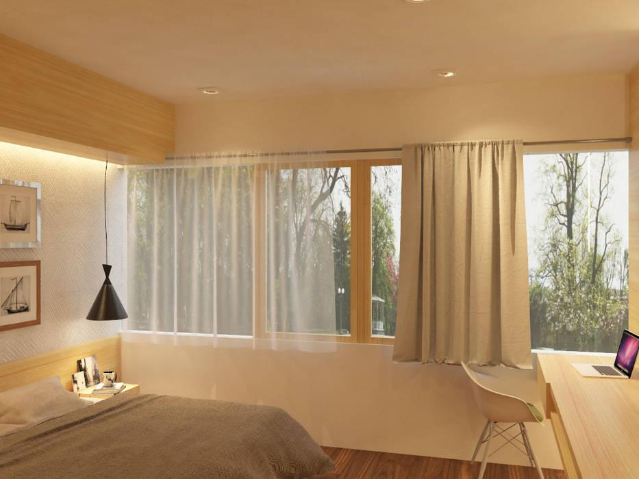 Hoteles de estilo  por TIES Design & Build, Minimalista
