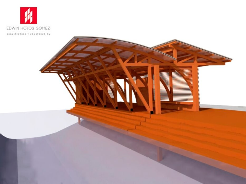 Muelles La Cocha Vereda el Puerto - Año 2010 de EHG arquitectura y construcción