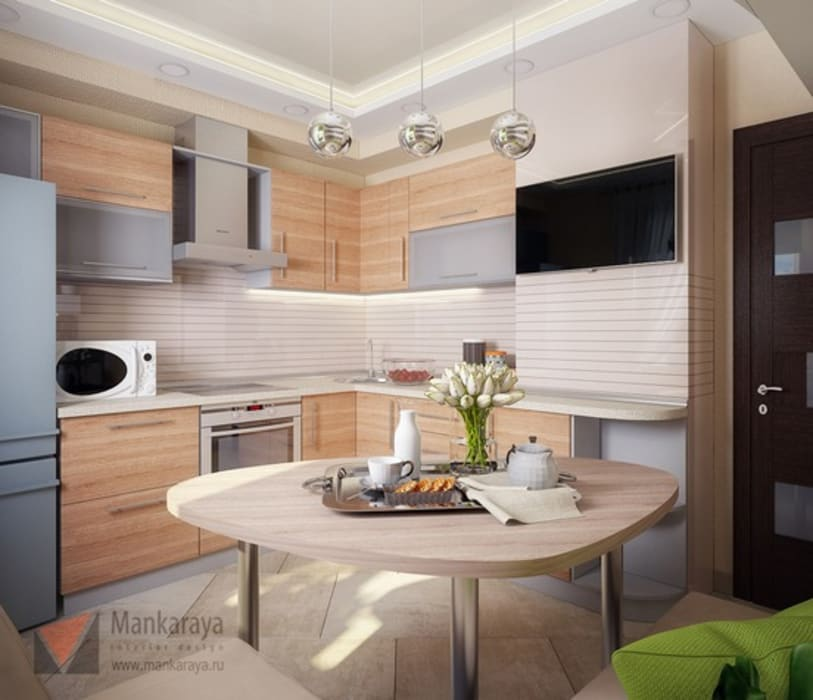 Кухня: Кухня в . Автор – Дизайн-студия 'Mankaraya'