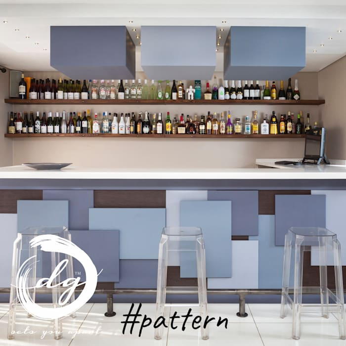 Pattern:  Wine cellar by Deborah Garth Interior Design International (Pty)Ltd, Minimalist
