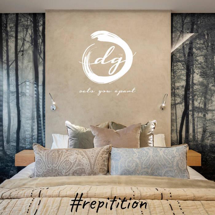 Repitition Minimalist bedroom by Deborah Garth Interior Design International (Pty)Ltd Minimalist
