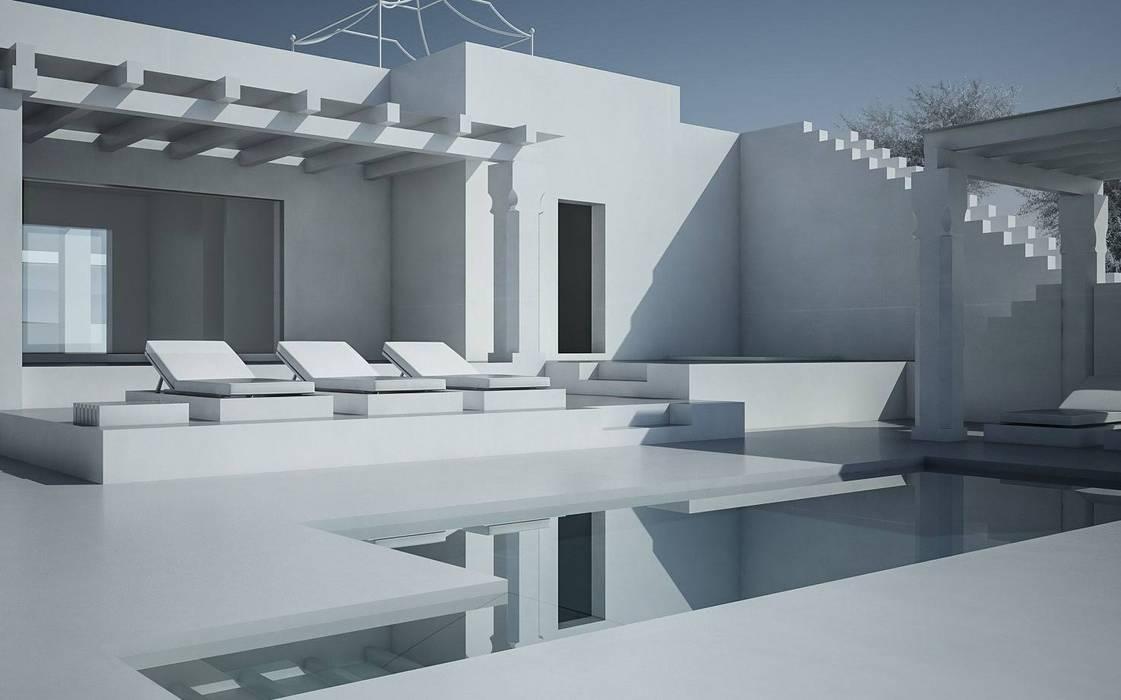 ทันสมัย  โดย architetto stefano ghiretti, โมเดิร์น