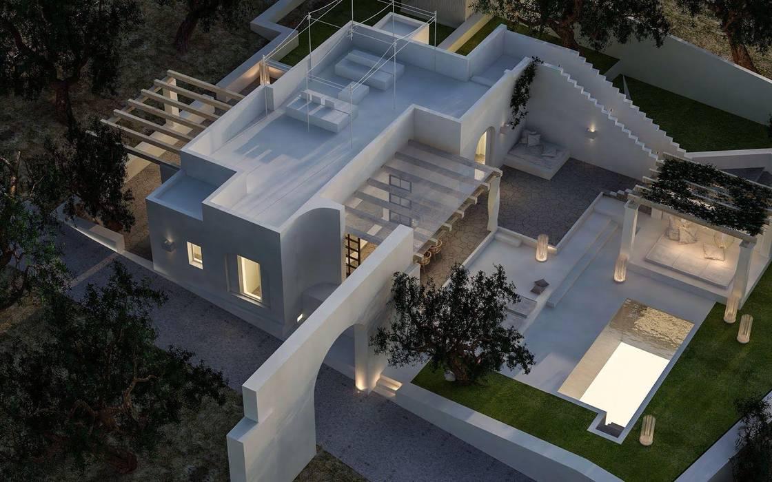 現代房屋設計點子、靈感 & 圖片 根據 architetto stefano ghiretti 現代風